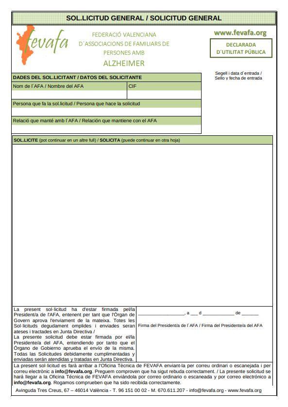 Formato solicitud / queja